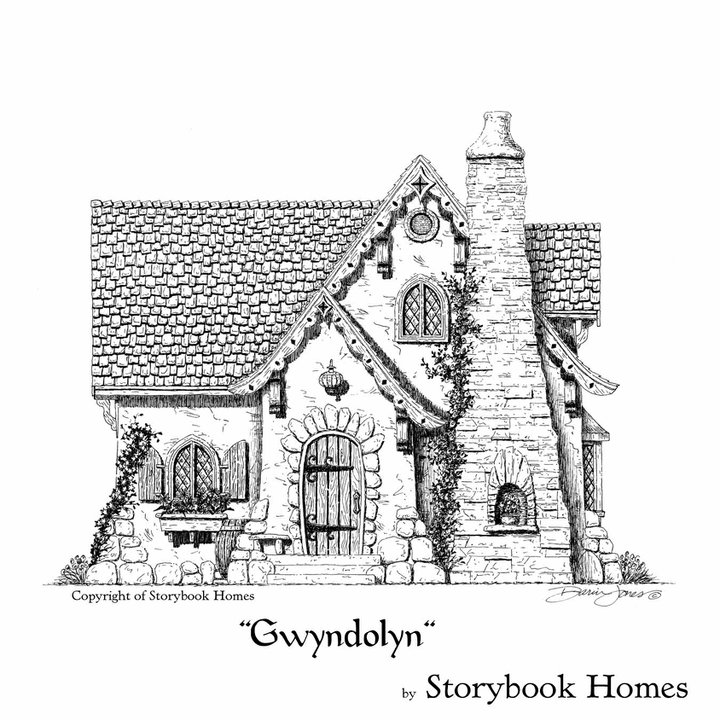 Storybook Homes Floor Plans Storybook House Plans Cozy Country
